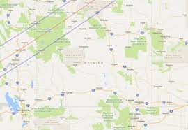Wy Map Moon Shadows Over Wyoming The Solar Eclipses Of 1878 1889 And