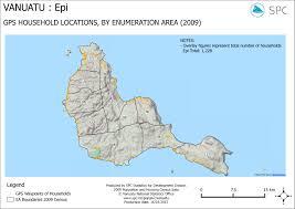 Vanuatu Map Gps Epi 16 03 2015 Shelter Cluster