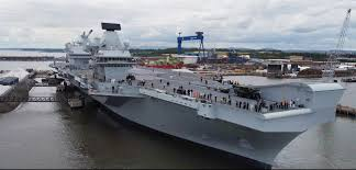 hms queen elizabeth sails for the first time save the royal navy