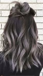 salt and pepper hair with lilac tips fanola hair color on instagram janet nguyen