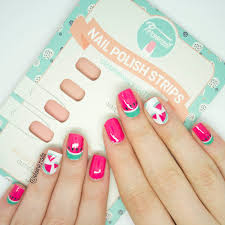 elaine nails personail nail polish strips review