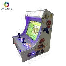 Table Top Arcade Games Coin Operated Mini Retro Arcade Bartop Cabinet Machine Tabletop
