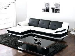 canaper design canapes design soldes canapac 3 places cuir noir tatiares relax