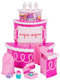 amazon com shopkins join the party playset birthday cake