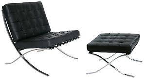 poltrona barcellona poltrona barcellona chaise longue acciaio inox design bauhaus casa