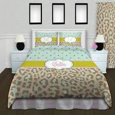 Custom Comforters And Bedspreads Best 25 Cheetah Bedding Ideas On Pinterest Cheetah Bedroom