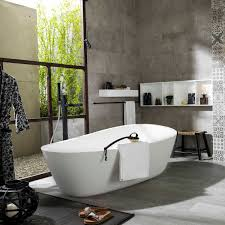 free standing bathtub oval krion almond white systempool