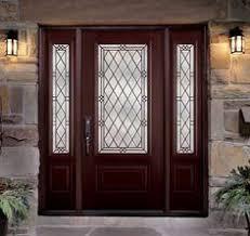 Fiberglass Exterior Doors With Sidelights Fiberglass Entry Doors Door Styles Pinterest Fiberglass