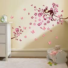 deco chambre bebe fille papillon walplus stickers muraux collection et beau deco chambre bebe fille
