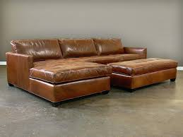sectional sofas with ottoman chocolate leather sectional sofa and ottoman brown aspen with sams