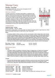 resume format for fresher maths teachers guide maths teacher cv template maths teacher job mathematics key