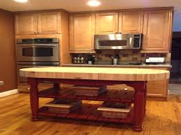 walnut kitchen island kitchen islands tables walnut top island with painted for alluring