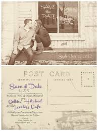 wedding postcards modern designing save the date wedding postcards vintage cocnept