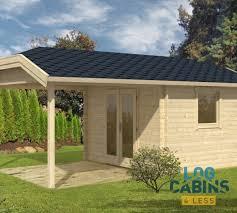 summer c cabins carol c 9m 5 5 x 3 5 m 40mm summer house log cabins 4 less