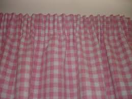 Gingham Nursery Curtains Nursery Blackout Curtains Pink Affordable Ambience Decor