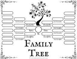 printable free family tree template family tree template template family tree template for pages resume