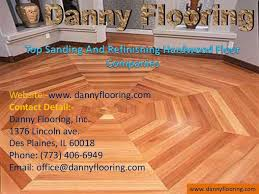 top sanding and refinishing hardwood floor companies