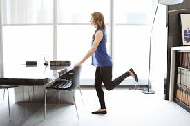 Office Desk Workout by The Ultimate 10 Minute Office Workout Glamour