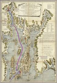 Rhode Island On Map Blaskowitz Map Of Narragansett Bay 1777