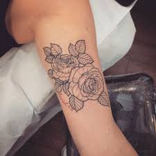 tattoo rose arm line roses thanks again for letting me do your first tattoo