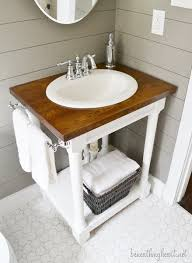 Adapt Vanity 14 Creative Diy Bathroom Vanities Bathroom Double Sinks Butcher