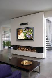 livingroom modern gas fireplace insert contemporary fireplace