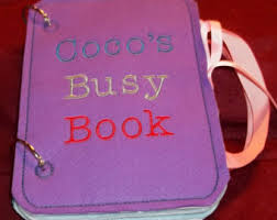 quiet book pages etsy