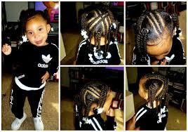 toddler kid style 4 x braids 4 ponytails w twists youtube