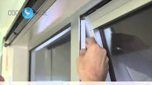 How To Install Portable Air Conditioner In Awning Window Cool Seal Youtube