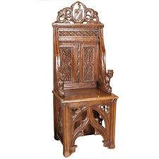 Throne Style Chair Gothic Throne Chair From France