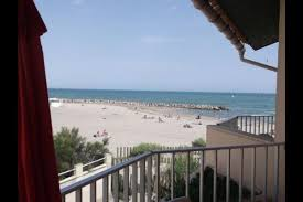 chambre d hote carnon plage vue mer et accès direct à la plage location vacances à carnon