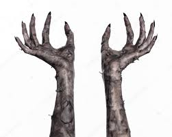 Halloween Monster Hands Black Hand Of Death The Walking Dead Zombie Theme Halloween
