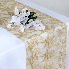 lace table runners wholesale fairy dust lace table runner chagne tablecloths factory