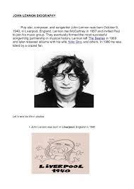 biography of john lennon in the beatles john lennon biography with images