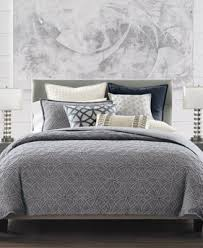 Macy S Bed And Bath Hotel Collection Connection Cotton Indigo King Duvet Cover