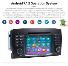 dual core android 7 1 gps navigation system for 2006 2012 mercedes