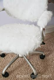 furniture furry desk chair bungee desk chair fuzzy chairs
