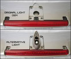 nissan maxima tail lights nissan oem spoiler light alternative