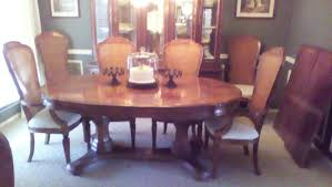 Dining Room Table And China Cabinet Hibriten Bernhardt Formal Dining Table And China Cabinet With 8