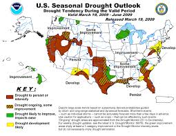 Us Drought Map Spring Weather Warnings Midwest Floods Droughts In South West