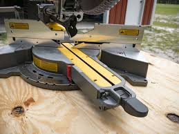 compound miter saw vs table saw dewalt flexvolt 120v max sliding miter saw pro tool reviews
