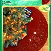 bucilla felt tree skirt kits page 2 of 3 fth