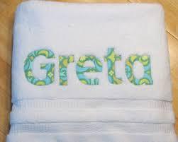 monogrammed towels wedding gift images wedding decoration ideas