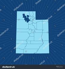 Map Of Utah by Map Utah Stock Vector 548892859 Shutterstock