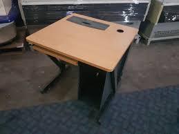 bureau avec tablette coulissante bureau avec tablette coulissante occasion
