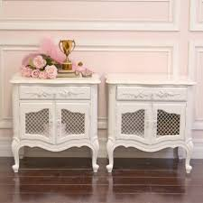 french style side table end tables designs cottage style end tables elegant pair of white