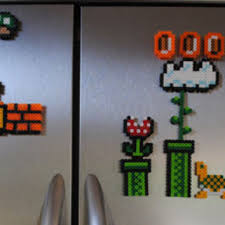 Super Mario Home Decor Best Perler Bead Sets Products On Wanelo