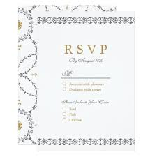 sle rsvp cards invitation letter with rsvp sle 28 images vintage antique look