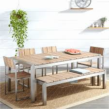 outdoor dining table cover dining table cover new macon 6 piece rectangular teak outdoor dining