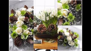 winter theme flower arrangement ideas